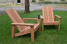 Outdoor Furniture Plans Pdf by Ana White First Build Redwood Adirondack Chairs Diy Projects