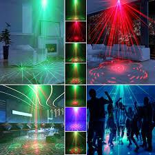 amazon com laser light 40 patterns led projector dj gear stage