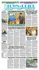 town crier newspaper june 30 2017 by wellington the magazine llc