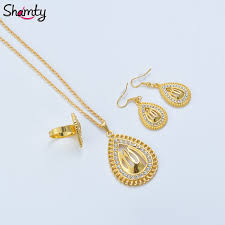 ring pendants necklace images Shamty allah sets pendants necklaces earrings ring pure gold color jpg
