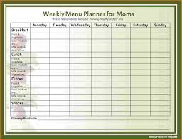 word template weekly planner budget template letter