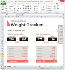 Tracking Spreadsheet Template Excel Free Weight Tracker Template For Excel