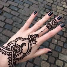 gambar tato henna sederhana dp bbm