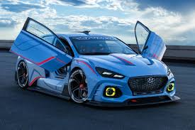 hyundai supercar concept race ya hyundai rn30 concept takes new n performance brand to