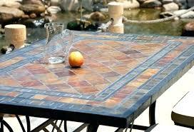 tile table top design ideas tile top patio table vahehayrapetian site