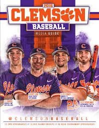 2016 clemson baseball media guide by clemson tigers issuu