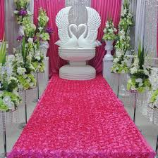 wedding backdrop aliexpress wedding decoration home party table skirt stage backdrop 3d