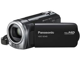 panasonic sd40 full hd camcorder black amazon co uk camera u0026 photo
