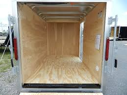 V Nose Enclosed Trailer Cabinets by Car Mate 5 X 8 5 V Nose Enclosed Cargo Trailer Ramp Door