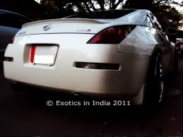 nissan 350z used india exotics in india nissan 350z roadster spotted