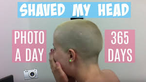 best days to cut hair for growth shaved my head hair growth in 365 days timelapse youtube