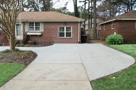 virginia concrete driveways