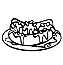 Banana Split On Plate Coloring Pages Best Place To Color Plate Coloring Page