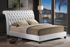 Modern Headboards Beautiful Jazmin Tufted Modern Bed With Upholstered Headboard 31