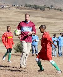william showed skills soccer game june 2010