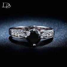 obsidian blue color obsidian engagement ring images jewelry design examples