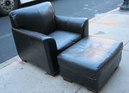 Teal Chair And Ottoman Eames Style Lounge Chair And Ottoman Black Leather Palisander