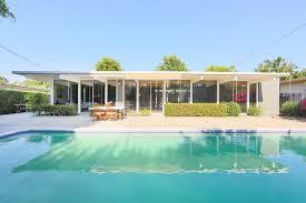 home of the day an eichler original in orange la times
