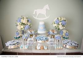 rocking horse baby shower baby showers the pretty blog