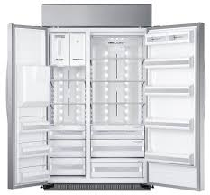 Samsung Cabinet Depth Refrigerator Samsung Rs27fdbtnsr 48 Inch Samsung True Series Counter Depth Side
