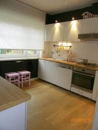 cuisine repeinte en blanc cuisine repeinte en noir 3 photos genedeco
