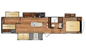 Bunkhouse 5th Wheel Floor Plans by 2018 Forest River Wildcat 36bhx Model