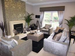 Silver Living Room by Feature Wall Ideas For Living Room Beige And Silver Living Rooms