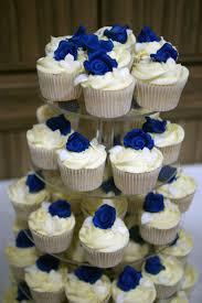 Cupcake Wedding Cake 3 Tier Wedding Cake With Cupcake Tower Bakealous