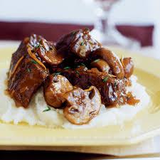 slow braised beef stew with mushrooms recipe myrecipes