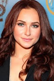 frosted hair color pictures dark auburn hair color pictures