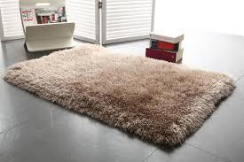 Schlafzimmer Teppich Taupe Shaggy Teppich Als Bettvorleger Taupe 60 Cm X 90 Cm Valdo Miliboo