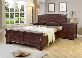 Luxury Bed Frame Luxury Sleigh Kingsize Wooden Bed Frame Bed Pinterest Wooden