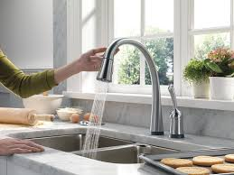 Touch2o Kitchen Faucet by Delta Faucet 980t Ar Dst Pilar Single Handle Pull Down Kitchen