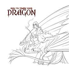 coloring pages for how to train your dragon 2