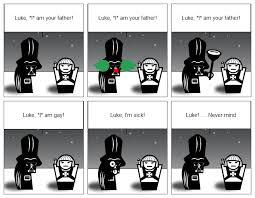 I Am Your Father Meme - stripgenerator com luke i am your father variations no 1