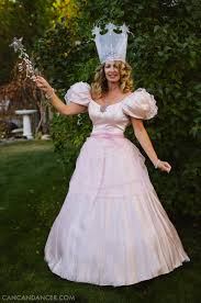 diy halloween costume 1 u2013 glinda can can dancer