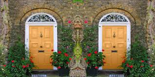yellow brick house door color most famous 2018 2019 house