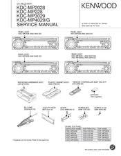 kenwood kdc mp2028 manuals