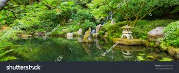 beautiful japanese zen garden stock photo 150355562 shutterstock