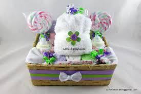 cupcake gift baskets cupcake gift set infant washcloth gift set baby
