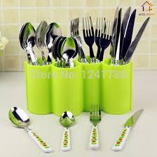 lot ustensiles de cuisine 2 pcs lot ustensile de cuisine en plastique porte vaisselle rack