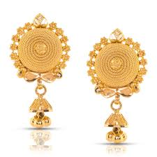 gold earrings tops aashna beaded gold drop earrings jewellery india online
