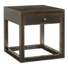 Side Table Designs With Drawers by Wonderful Modern Style Side Table Design Ideas With Brown