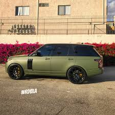 green land rover rdbla matte army green range rover rdb la five star tires