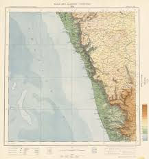 Hyderabad Map India And Adjacent Countries Topographic Maps Perry Castañeda