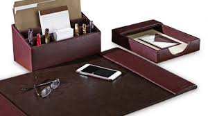 the brilliant executive desk organizer set desk sets personalized