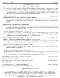 Team Manager Resume Sample by Information Technology Senior Project Manager Resume Sample