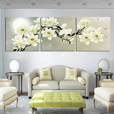 online get cheap white magnolia flower paintings aliexpress com