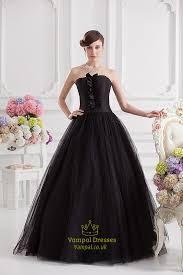 black ball gown prom dresses black ball gown dresses uk vampal