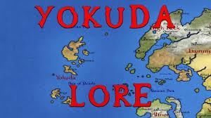 Elder Scrolls World Map by Yokuda What Is It Like Elder Scrolls Lore Youtube